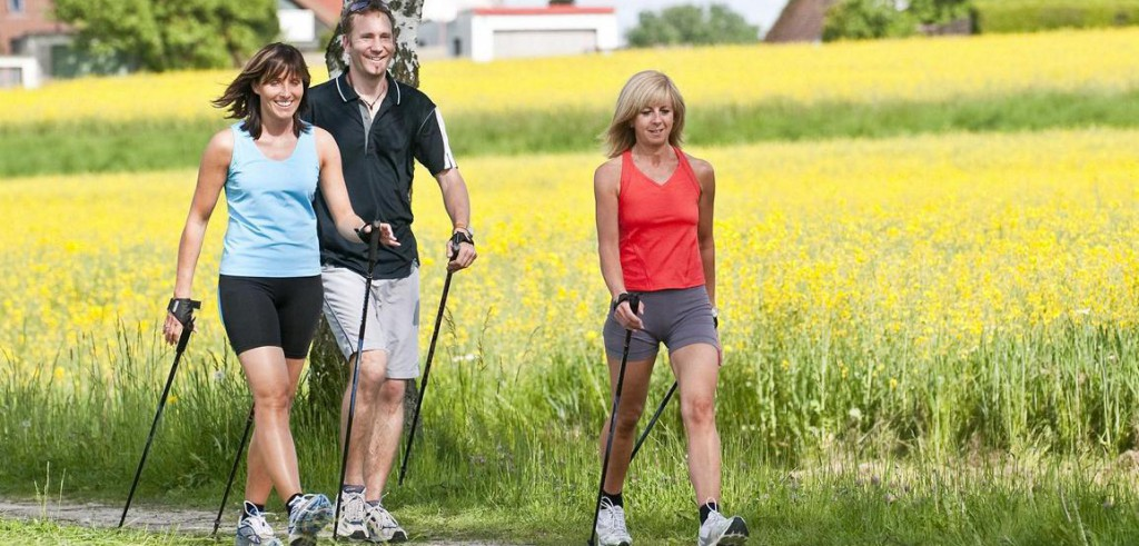 Nordic Walking Kurs Physiotherapie