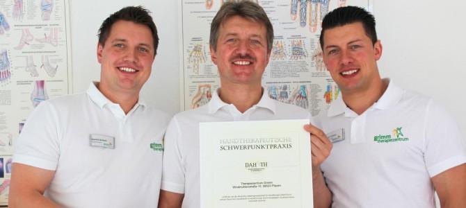 Schwerpunktpraxis für Handrehabiliation in Plauen