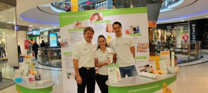 Therapiezentrum Grimm goes ECE Stadtgalerie Plauen